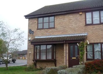Thumbnail 2 bed semi-detached house to rent in Dunston Drive, Oulton, Lowestoft