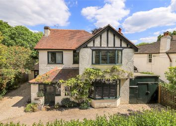 Thumbnail 4 bed detached house for sale in Otterbourne Road, Shawford, Winchester, Hampshire