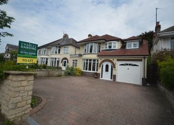 Thumbnail 4 bedroom detached house to rent in Marlborough Road, Swindon