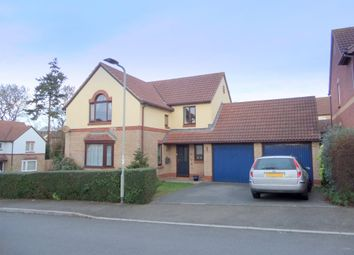 Thumbnail 4 bed detached house for sale in Wordsworth Close, Exmouth, Devon