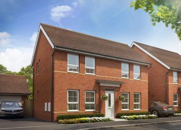 "Thumbnail 3 bed detached house for sale in ""Dartmouth"" at Tiverton Road, Cullompton"