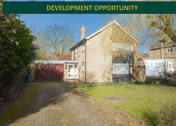 Thumbnail 3 bed detached house for sale in Coverside Road, Great Glen, Leicester