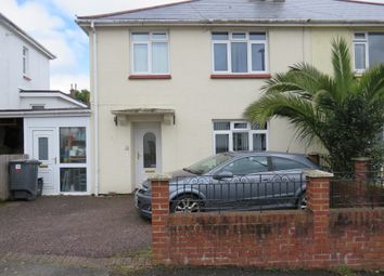 Thumbnail 3 bedroom semi-detached house for sale in Wills Avenue, Preston, Paignton