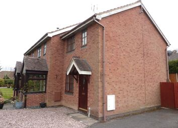 Thumbnail 2 bed end terrace house to rent in Orchard Drive, West Felton, Oswestry