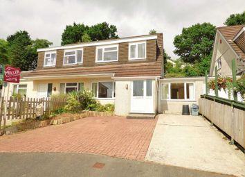 Thumbnail 4 bed semi-detached house for sale in Rowan Close, Tavistock