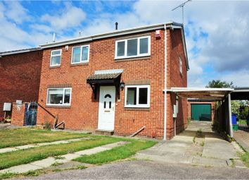Thumbnail 2 bed semi-detached house for sale in Aldcliffe Crescent, Doncaster