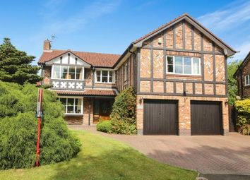 Thumbnail 5 bed detached house for sale in Hazelwood Road, Wilmslow, Cheshire