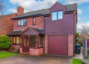 Thumbnail 4 bed detached house for sale in Kirkland Avenue, Shrewsbury