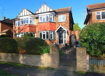 Thumbnail 4 bed semi-detached house for sale in Stewards Green Road, Epping, Essex