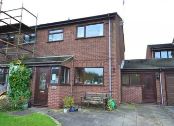 Thumbnail 3 bedroom semi-detached house for sale in Riverbank Close, Bollington, Macclesfield