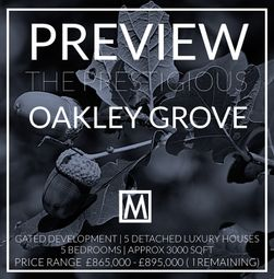 Thumbnail 5 bedroom detached house for sale in Oakley Grove, Cuttinglye Lane, Crawley Down