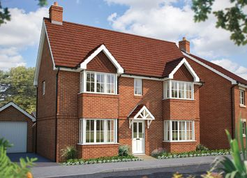"Thumbnail 3 bedroom detached house for sale in ""The Sheringham"" at Winchester Road, Hampshire, Botley"