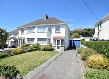 Thumbnail 3 bedroom semi-detached house for sale in Valley Road, Bude