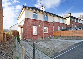 Thumbnail 3 bed semi-detached house for sale in Lambton Road, Dover, Kent