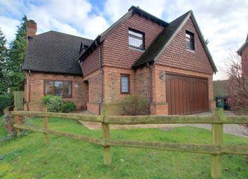 Thumbnail 4 bed detached house for sale in Denefield Gardens, Tilehurst, Reading