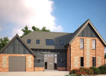 Thumbnail 4 bed detached house for sale in Church Road, Wretham, Thetford