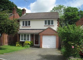 Thumbnail 4 bedroom detached house to rent in Moor Park, Honiton