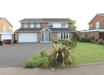 Thumbnail 5 bedroom detached house for sale in Wayford Close, Longthorpe, Peterborough