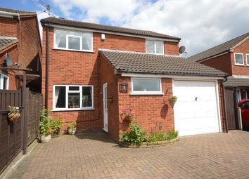 Thumbnail 3 bed detached house for sale in Barbara Close, Enderby, Leicester