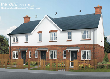 Thumbnail 2 bedroom terraced house for sale in Squires Meadow, Lea, Ross-On-Wye, Herefordshire
