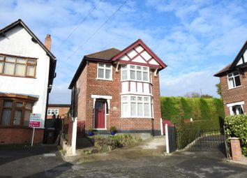 Thumbnail 3 bed detached house for sale in Hendon Rise, Mapperley, Nottingham