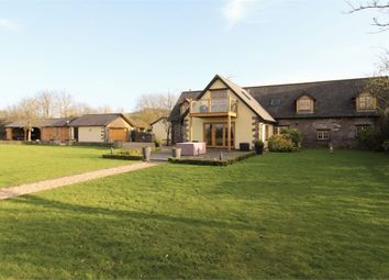 Thumbnail 4 bed barn conversion for sale in The Granary, Lower Maerdy Farm, Llangeview, Usk, Monmouthshire