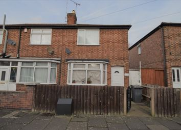 Thumbnail 2 bedroom terraced house for sale in Frisby Road, Humberstone, Leicester