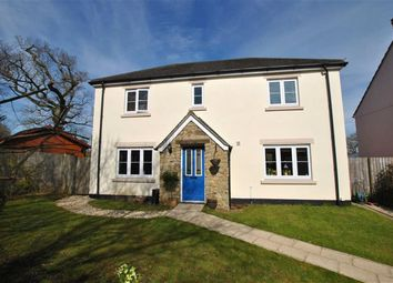 Thumbnail 4 bedroom detached house for sale in Hooper Close, Hatherleigh, Devon