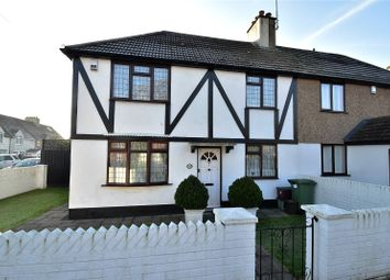 Thumbnail 3 bedroom semi-detached house for sale in Iron Mill Lane, Crayford, Dartford, Kent
