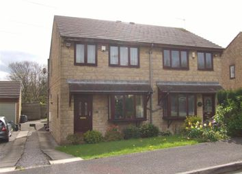 Thumbnail 3 bed semi-detached house for sale in Bentley Mount, Sowerby Bridge