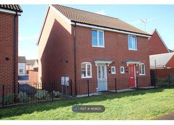Thumbnail 2 bed semi-detached house to rent in Poppy Walk, Hereford