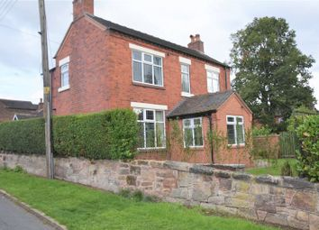 Thumbnail 3 bed detached house for sale in Nursery Lane, Stockton Brook, Stoke-On-Trent