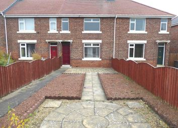 Thumbnail 3 bed terraced house to rent in West Avenue, Chester Moor, Chester Le Street