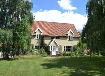 Thumbnail 4 bed detached house for sale in Low Road, Alburgh, Harleston