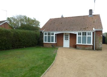 Thumbnail 3 bedroom detached bungalow to rent in Wangford Road, Reydon, Southwold