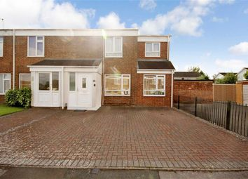Thumbnail 4 bedroom end terrace house for sale in Thackeray Close, Liden, Swindon
