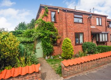 Thumbnail 3 bed end terrace house for sale in Willow Court, Washingborough, Lincoln