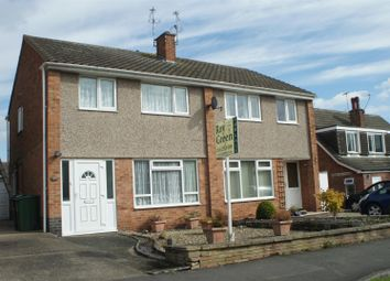 Thumbnail 3 bedroom semi-detached house for sale in Peartree Close, Anstey, Leicester
