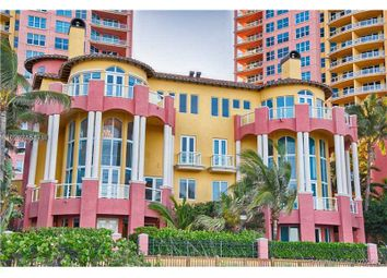 Thumbnail 5 bed town house for sale in 2120 N Ocean Blvd VII, Fort Lauderdale, Fl, 33305