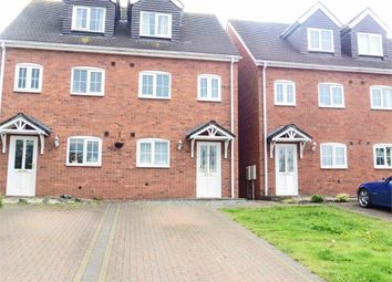Thumbnail 3 bed semi-detached house for sale in Off Rink Drive, Swadlincote, Swadlincote, Derbyshire