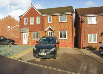 Thumbnail 3 bed semi-detached house for sale in Fairfield Way, Great Ashby, Stevenage