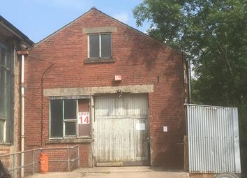 Thumbnail Light industrial to let in Unit 14 Bingswood Trading Estate, High Peak, Derbyshire