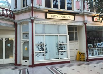 Thumbnail Retail premises to let in The Royal Arcade, Unit 25A, Boscombe, Bournemouth, Dorset