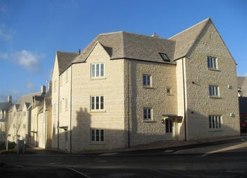 Thumbnail 1 bed flat to rent in Cross Close, Cirencester