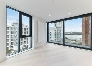 Thumbnail 2 bed flat for sale in Summerston House, Royal Wharf