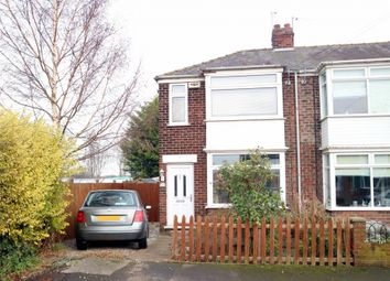 Thumbnail 2 bed end terrace house for sale in Lamorna Avenue, Hull, Yorkshire