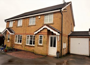 Thumbnail 3 bed semi-detached house for sale in Elton Way, Coalville