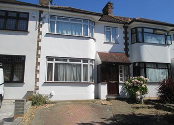 Thumbnail 3 bed terraced house to rent in Lodge Avenue, Gidea Park