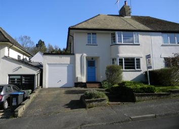 Thumbnail 4 bed semi-detached house to rent in Cedar Road, Berkhamsted
