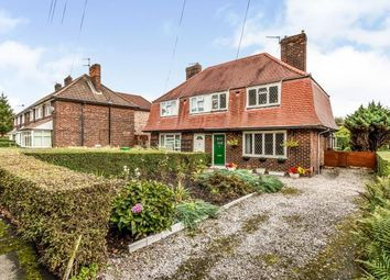 Thumbnail 3 bed semi-detached house for sale in Button Lane, Manchester, Greater Manchester